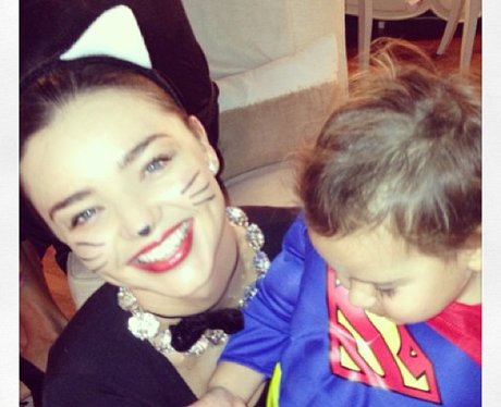 miranda kerr and son in fancy dress