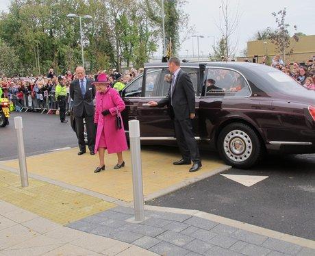 Queen Arrives In Newhaven