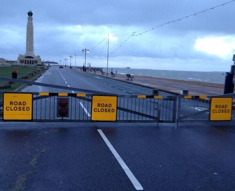 Southsea Seafront closed