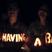 Image 5: Tom Fletcher and Giovanna carve their news into pumpkins