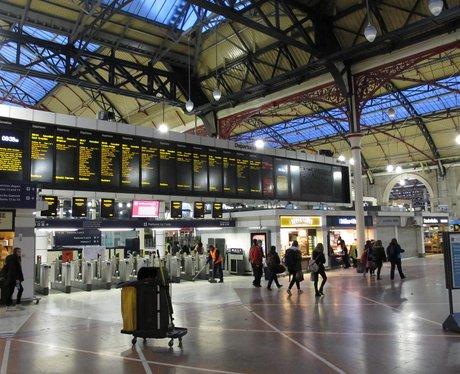 deserted victoria station