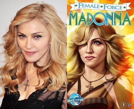 Madonna and her cartoon
