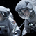 Image 7: Sandra Bullock and George Clooney in space suits