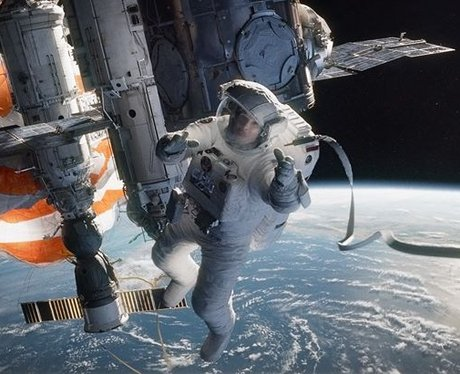 Sandra Bullock as an astronaught in 'Gravity'