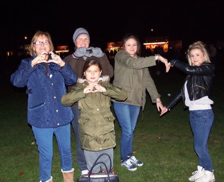 Heart Angels: Basingstoke Fireworks