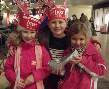 Heart Angels: Cabot Circus Christmas Lights
