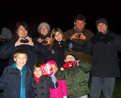 Heart Angels: Thatcham Fireworks