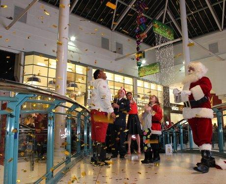 Intu Watford Christmas Light Switch On