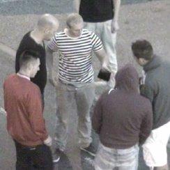 Ipswich soldier assault CCTV