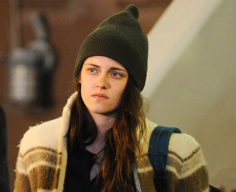 Kristen Stuart on set filming 'Anaesthesia'