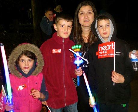 Stevenage Fireworks 2013