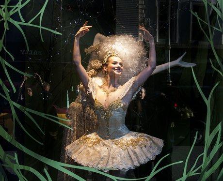 ballerina in fenwick store window