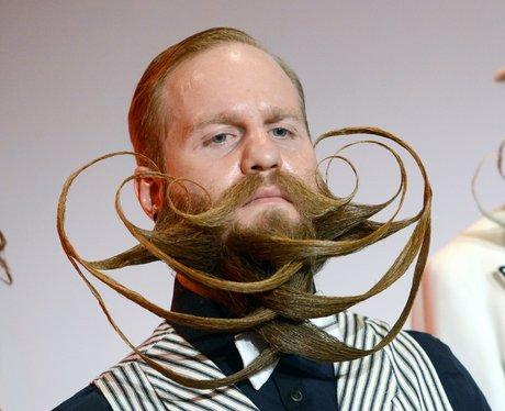man with intricate beard
