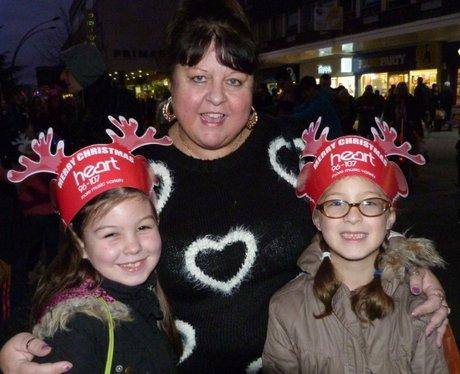 Basildon Christmas Lights Switch On