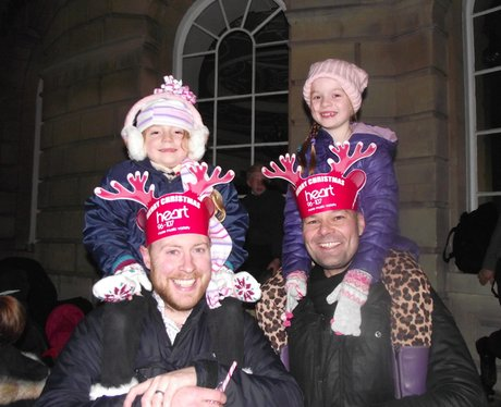 Heart Angels: Bath Christmas Lights