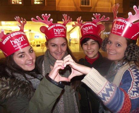 Heart Angels: Bath Christmas Lights