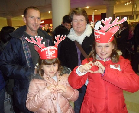 Heart Angels: Royal Victoria Place Christmas Light