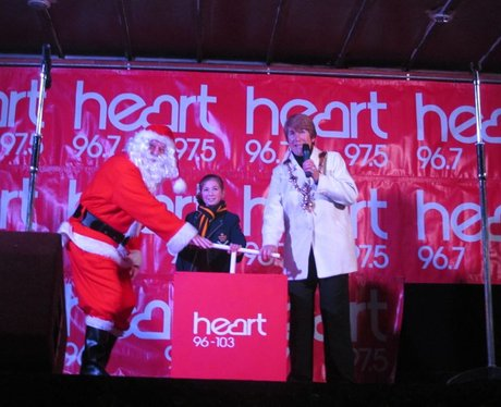 Heart Angels: Southsea Christmas Lights Switch On