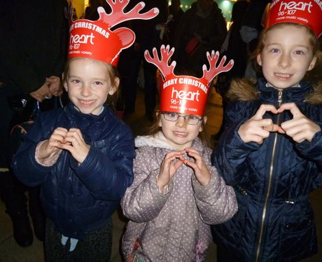 Heart Angels: Westwood Cross Christmas Light Switc