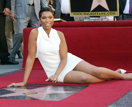 Jennifer Hudson on The Hollywood Walk of Fame