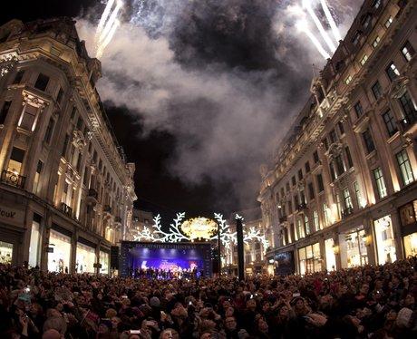Regent Street Christmas Lights 2013 Switch On
