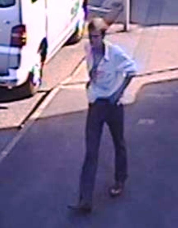 British transport police CCTV of man