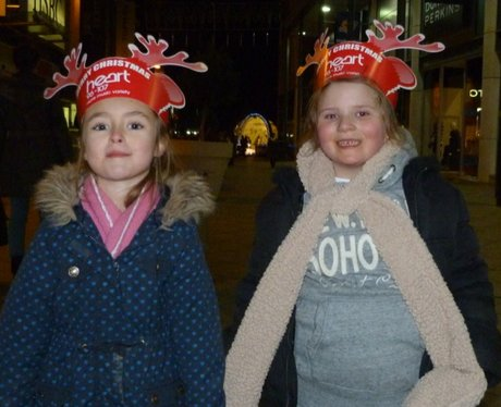 Harlow Christmas Lights Switch On