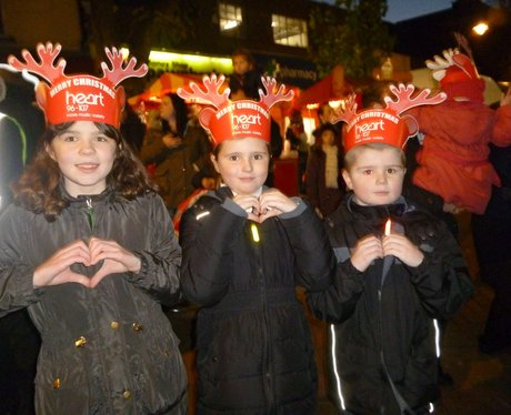 Heart Angels: Gillingham Christmas Light Switch On