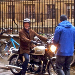 Pierce Brosnan In Cambridge