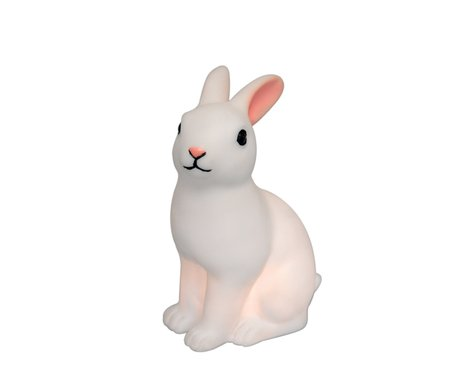 a rabbit shaped night light