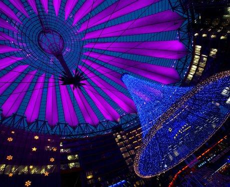 lights in the sony center berlin