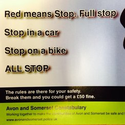 A&S safety message Cyclists & Motorists