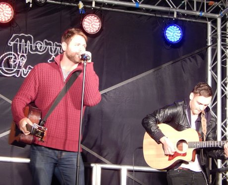 Brian McFadden in Rhyl