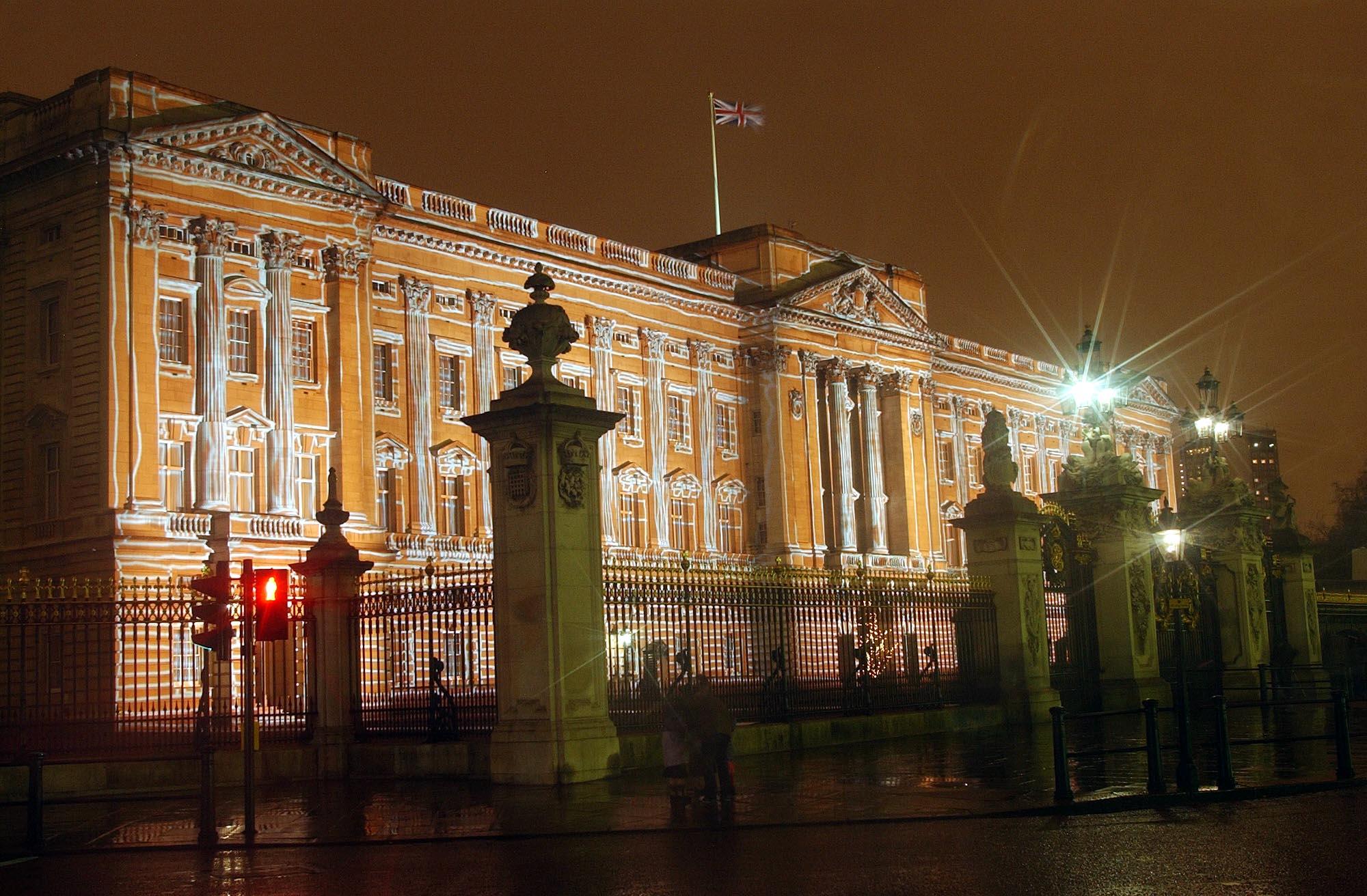 Buckingham Palace Christmas