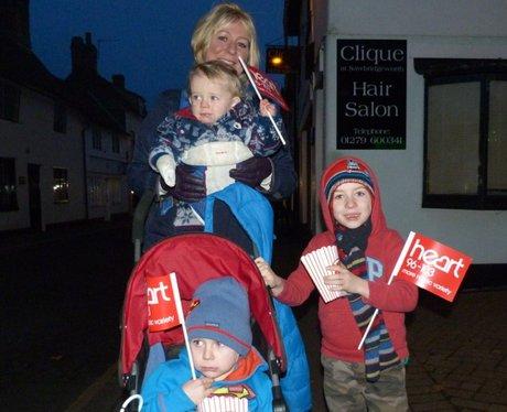 Chelmsford Sawbridgeworth Lights Switch On