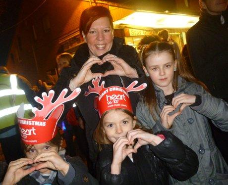 Heart Angels: Rainham Christmas Light Switch On (2