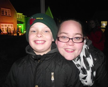 Heart Angels: Redrow Homes Taunton Celebrate Chris