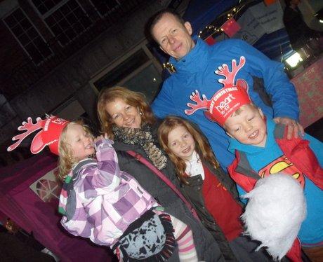 Heart Angels: Sevenoaks Christmas Light Switch On