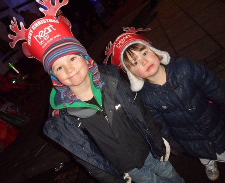 Heart Angels: Sevenoaks Christmas Light Switch On