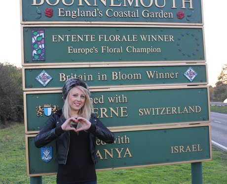 Kate Giving It Some Heart For Bournemouth
