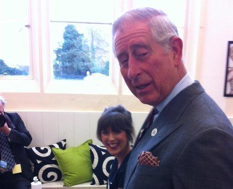Prince Charles Visits Malmesbury