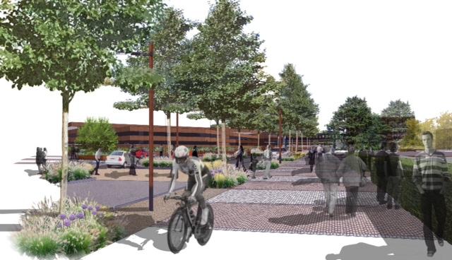 South view Peterborough boulevard