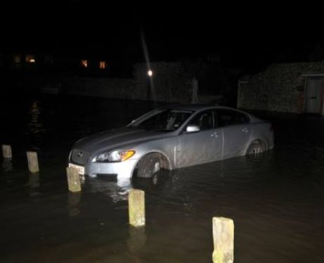 Blakeney Quay Flood