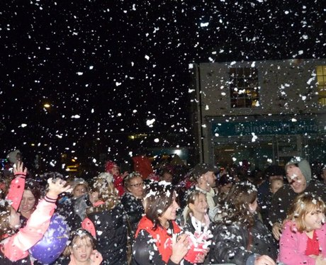 Braintree Christmas Lights Switch On