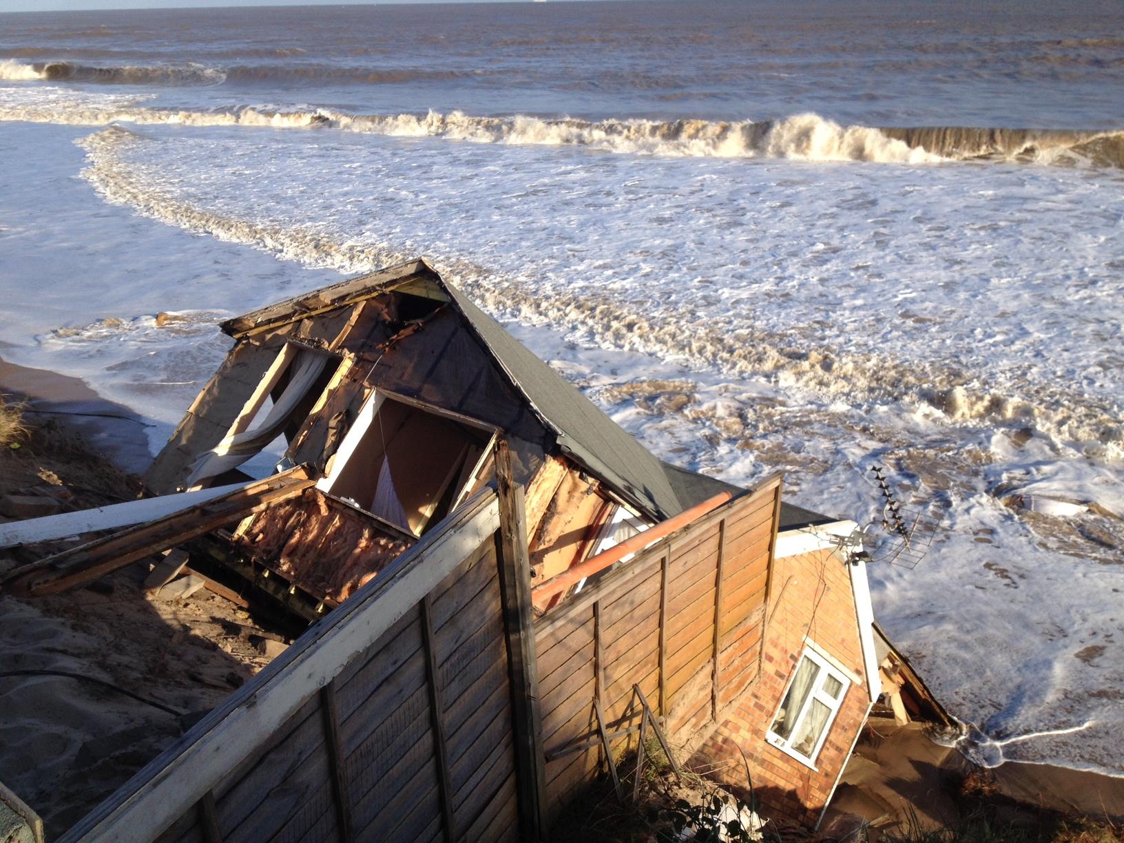 Flood house Hemsby