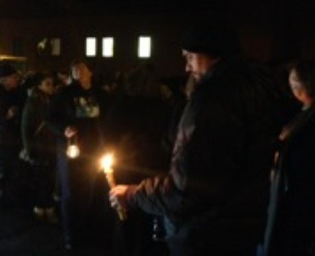 Leon Briggs Vigil Luton