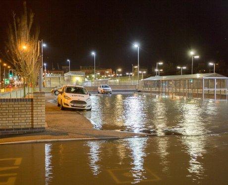 Lowestoft Train Station Flood - Richie Reeder