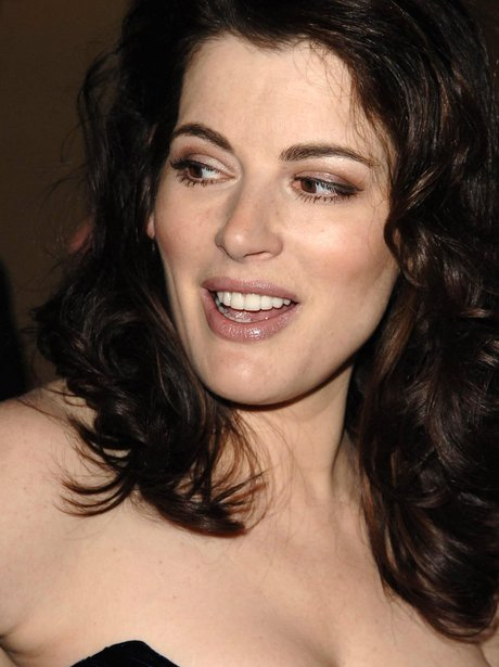 Nigella Lawson goes almost topless