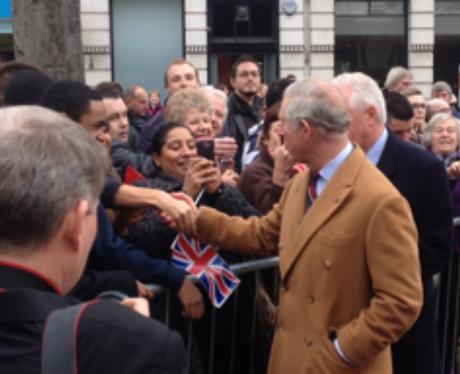 Prince Charles In Bedford