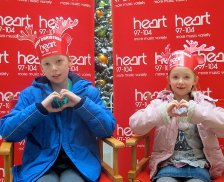 The Heart Angels went to the Arndale centre in Eas